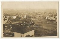 RPPC Birdseye View of KANE PA Vintage 1912 McKean County Real Photo Postcard 1