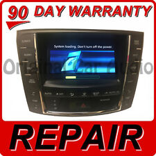 REPAIR 2006 - 2012 Lexus OEM Navigation Information Display Screen IS250 GS300