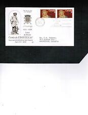 CANADA 1972  Comte de FRONTENAC  FDC PAIR  #561   BOX 503