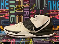 "NIKE KYRIE 6 TB ""OREO"" Mens Sneakers White/Black CK5869 101 ALL SIzes DOUBLE BOX"