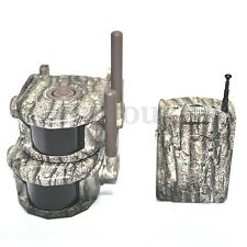 360° 300-600m Wireless Hunting Trail & Security Alarm System Used Hunter Inform