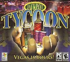 Video Game PC Jackpot Tycoon Vegas is Yours NEW SEALED