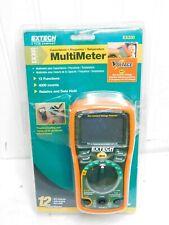 New Listingextech 12 Function Mini Multimeter Amp Non Contact Voltage Detector Ex330