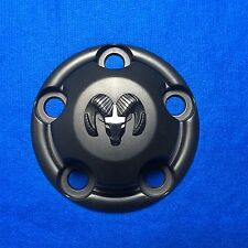 "ONE OEM 1998-2003 Dodge Van Black Center Cap fit 15"" 10 spokes 52038266 2141"