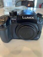 Panasonic Lumix DMC-GH4 Mirrorless Camera Body + 2 Batteries & charger