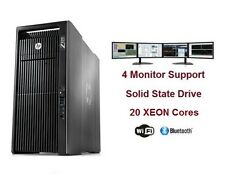 HP Z820 CAD WorkStaion Computer PC 20 Cores XEON NVIDIA Quadro M4000 512GB SSD