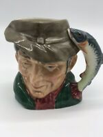 Royal Doulton The Poacher Small Size Toby Mug Variation 2