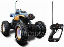 "MAISTO ROCK CRAWLER R/C REMOTE CONTROL 4x4 OFF ROAD MONSTER TRUCK 12.5"" BLUE"