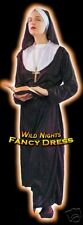 FANCY DRESS COSTUME - FUN CLASSIC NUN UNIFORM MED 12-14