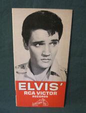 Elvis Presley Rca Victor Records Catalog 1965 Exc
