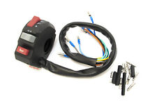 """K&S Universal Motorcycle Handlebar Multi Switch Left Horn Blinker for 7/8"""" bars"""