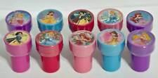 Disney Princess Ariel Belle Snow White Aurora Cinderella 10 Stamps Party Supply
