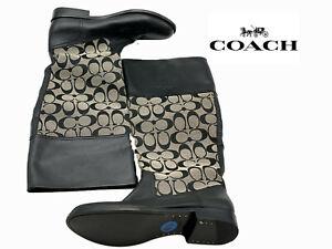 Coach Rain Boots Size 6.5