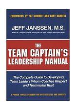 The Team Captain's Leadership Manual Free Shipping