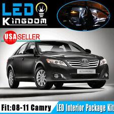 14 X For 08-11 Toyota Camry Car Interior LED Light Bulb Package Kit Xenon White