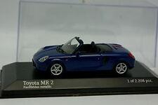 Minichamps 1/43 - Toyota MR2  Bleue