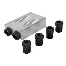 Silverline Guida taglia fori 6, 8 & 10 mm
