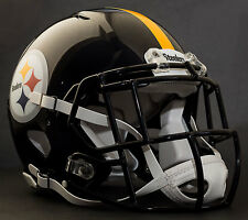 PITTSBURGH STEELERS NFL Authentic GAMEDAY Football Helmet w/S2EG-SW-SP Facemask
