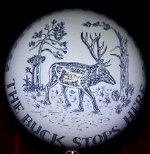 Awesome The BUCK Stops HERE Great BRITAIN England DEER PAPERWEIGHT