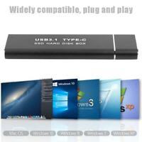 Festplatte Gehäuse Hülle USB3.1 Typ C Zu M.2 Ngff Externe Festplatte SSD Box