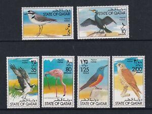 Qatar - 1976, Birds set - MNH - SG 608/13