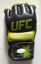 Amanda Nunes signed UFC MMA boxing glove
