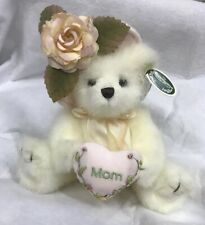 "2006 Bearington Bear Collection 10"" MOMMY TENDERHEART Cream Bear NEW"