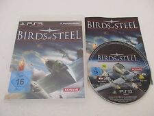 BIRDS OF STEEL - SONY PLAYSTATION 3 - JEU PS3 COMPLET German Version
