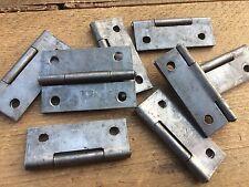 4 Pares 5.1cm 50mm ligero color acero Bisagras LIBRO Puerta Aparador Bisagras