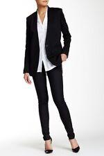 Helmut Lang Women's Black Elasticized Pants Sz 25 $195