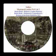Tallis's London Illustrated + Dickenson's Illustrated Great Exhibition 1851