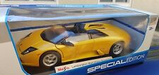 Maisto LAMBORGHINI MURCIELAGO Roadster (Yellowish orange)  1:18
