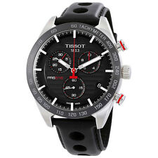 Tissot PRS 516 Chronograph Black Dial Mens Watch T100.417.16.051.00