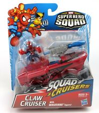 Marvel Super Hero Squad Cruisers - Claw Cruiser with Spider-Man Action Figure