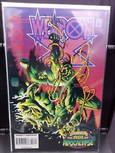 °WEAPON X #3 A WORLD WITHOUT XAVIER: AGE OFAPOCALYPSE°:US Marvel 1995