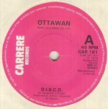 """OTTAWAN D.I.S.C.O.  7"""" VINYL"""