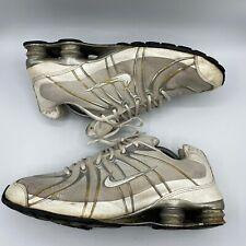 Nike Shox Turbo OZ MESH White /Silver Basketball Running Shoes Men 12 356884-112
