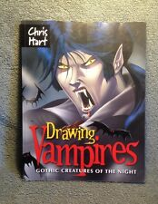 DRAWING VAMPIRES GOTHIC CREATURES OF THE NIGHT 09 By CHIS HART PAPER BACK