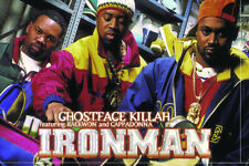 Ghostface Killah Ironman Art Wall Indoor Room Outdoor Poster - POSTER 24x36