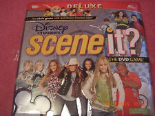 2008 SCENE IT DISNEY CHANNEL DELUXE EDITION TRIVIA DVD BOARD GAME Tin Case VGC