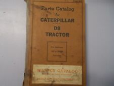 CAT Caterpillar D8 Tractor Parts Manual 1H1 to 1H2408 Form 5078