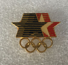 1984 Los Angeles Olympic Stars In Motion Collector Pin