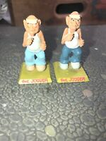 "2 ""jogger Lot Vintage Metal Figures Lot !"