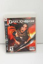 Sony Playstation 3 Ps3 Untold Legands Dark Kingdom Game Complete
