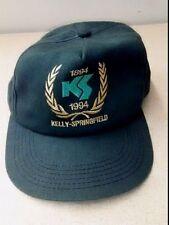 Kelley Springfield Tires Vtg Snapback Hat Green 1894-1994 Baseball Cap