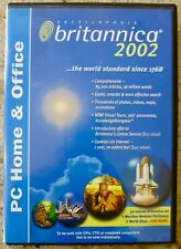 Britannica 2002 - 3 Disc - Pc Home & Office - 32 Volume Britannica Set
