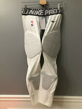 Nike Pro NBA Player PE Issue Hyperstrong Padded 3/4 Tights White XL-T 881963-010
