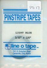 "Line O Tape 3/32"" x 120"" Pinstripe Masking Tapes Light Blue #PS17"