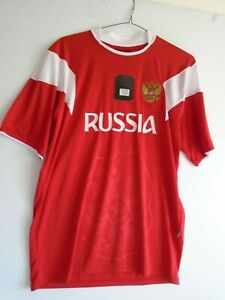 Russia National Soccer Jersey by Token  One Size Red