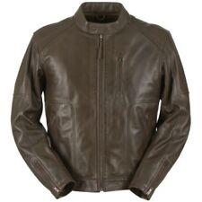 Blousons toutes saisons marron longueur hanches pour motocyclette